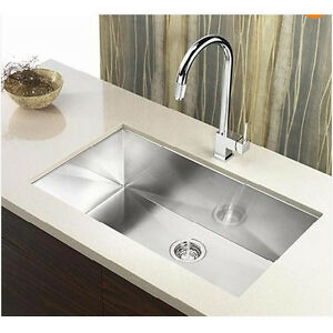 16 Gauge Undermount Kitchen Sink : 23