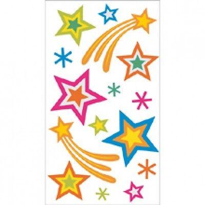 Jolee's Boutique Stickers - VELLUM STARS -#134 -