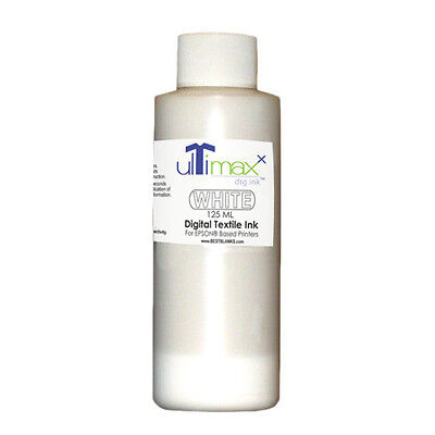Ultimaxx Dtg Inks For Anajetmelcojet Others 1 Bottle White - 125ml4.25oz