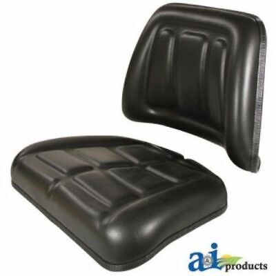 Made To Fit Massey Ferguson Tractor Seat Cushion Kit Backrest Bottom