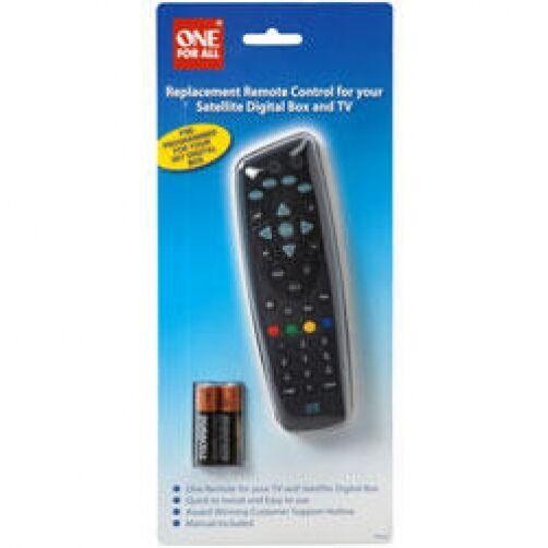 Remote Control Satellite SKY Programmed Digital Box TV