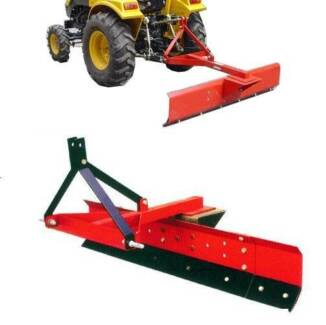 GRADER BLADE 6FT 180CM TRACTOR 3 POINT LINKAGE ADJUSTABLE ANGLE