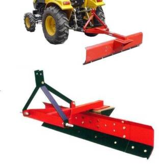 GRADER BLADE 5FT 150CM TRACTOR 3 POINT LINKAGE ADJUSTABLE ANGLE