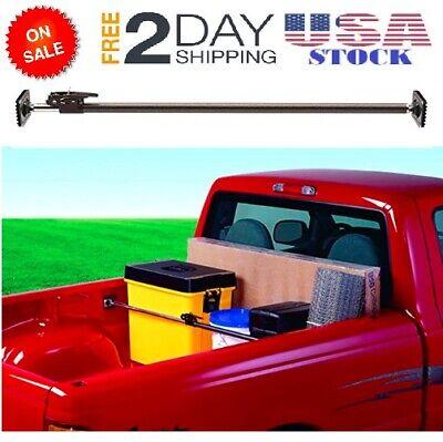 Adjustable Cargo Bar Pickup Truck Bed Holder Ratcheting Stabilizer 40
