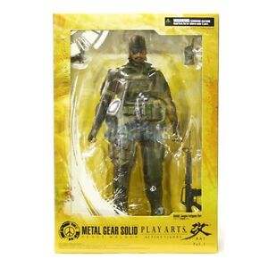 ★ METAL GEAR SOLID Peace Walker Snake Jungle Fatigues Play Arts 9