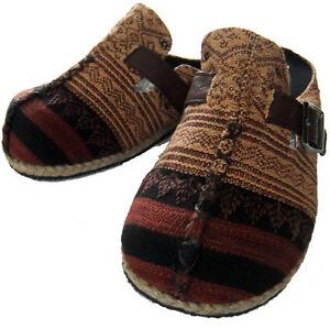 Naga hand-woven fabric clogs ( wholesale lot - 83 pairs ) Bonny Hills Port Macquarie City Preview