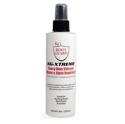 KG's Boot Guard KG-Xtreme Heavy Duty Silicone Water Stain Repellent 8 oz(236 -