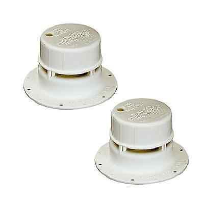 Set of 2 Ventline Plumbing Vent Cap for RV / Camper / Trailer / Motorhome