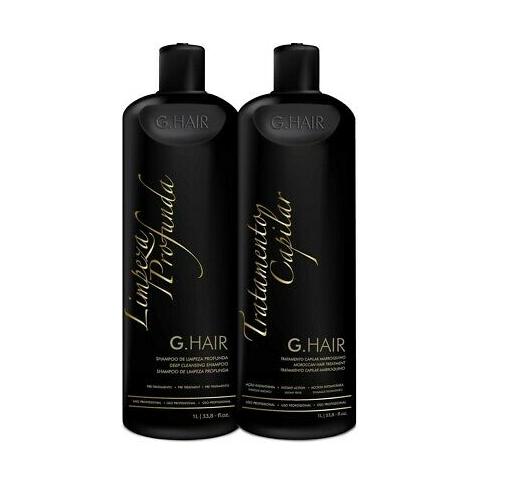 Inoar G hair Moroccan Keratin smoothing treatment KIT 2 x 50