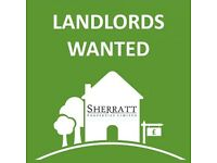 LANDLORDS AND PROPERTY OWNERS WANTED