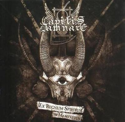Capitis Damnare   Ex Regnum Spiritus In Manifestus Cd 2009 Black Metal