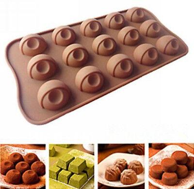 Eyeball Candy Silicone Chocolate Monster Eye Fondant Tray mould ICE Cube Tray - Eyeball Candy