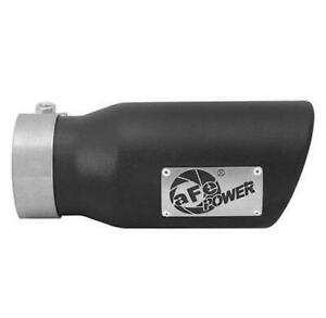 AFE POWER BLACK EXHAUST TIP