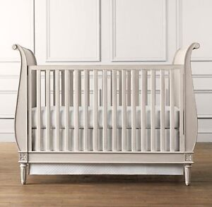 Restoration Hardware RH Baby & Child Emelia Sleigh Crib