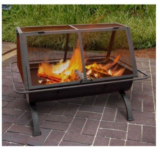 landmann northwoods portable outdoor fireplace 28305 ebay