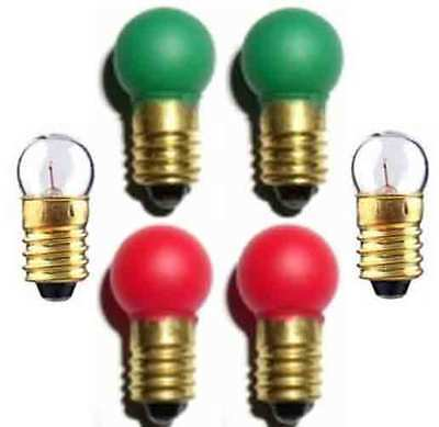 Switch Track  BULBS Set 2 ea 1447  432G 432R for American Flyer S Gauge Trains for sale  Shipping to Canada