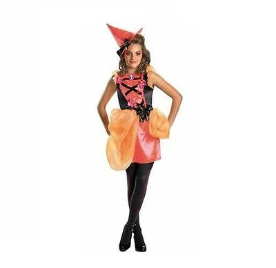 5 Girl Halloween Costumes (BNIP Girl Teen Size 5-7 Disguise Runway Witch Halloween Couture Costume)