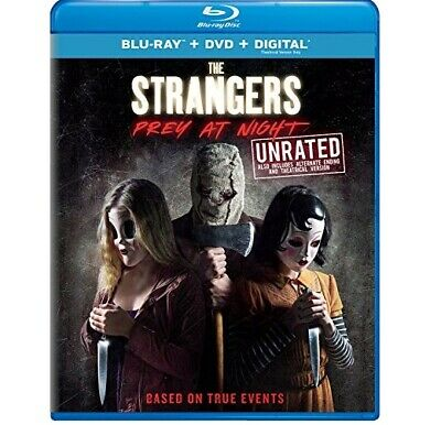 Universal Pictures MCABR9193716 The S trangers: Prey At Night (Blu-ray + DVD + - Halloween At Universal