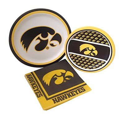 University Of Iowa Party ( University of Iowa Hawkeye Party Dinner Dessert Paper Plates Napkins For)