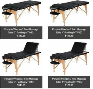 Portable Massage table/Facial/Tatoo/Eye Lash bed,from 129.99!