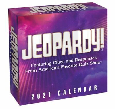 Jeopardy! 2021 Day-to-Day Calendar