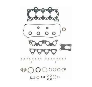 New Felpro Engine Gasket Set Honda Civic CRX 91 90 89 88 1991 1990 HS9123PT