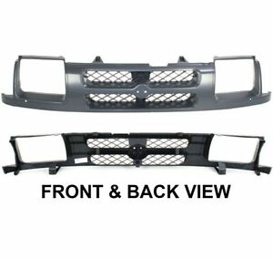 New-Grille-Assembly-Grill-Dark-gray-Nissan-Xterra-2001-NI1200195-623107Z000