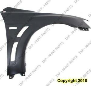 Fender Front Passenger Side Steel Evolution Models Mitsubishi Lancer 2008-2015