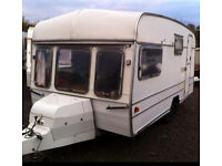 Swift Corniche Touring Caravan 1980's RACE BIKE CARRIER SPECIAL REAR DOOR CONVERSION MOTO X