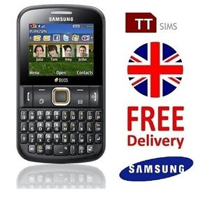 Samsung-Chat-222-Dual-Sim-Brand-New-Unlocked-Sim-Free-E2222-UK-DUOS-2-Two