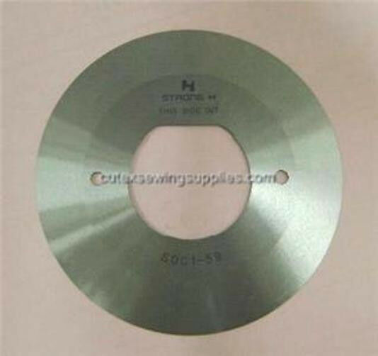 "4"" ROUND BLADE FOR EASTMAN CUTTING MACHINE R4E R80C1-59"