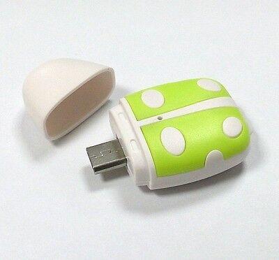 T01 microUSB OTG Card Reader fit SanDisk 128GB 64GB 32GB 16GB 8GB microSD micro