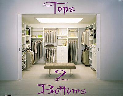 Tops 2 Bottoms