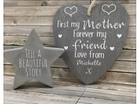 Handmade and personalised Mother's Day gifts