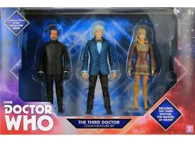 Third Doctor collector set doctor who
