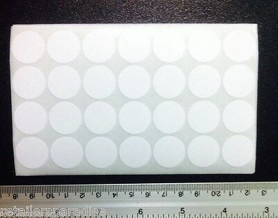 1000 Removable 34 Round Bright Self Adhesive Labels Stickers Store Price Tags