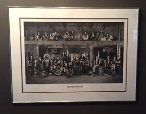 Calgary Flames Ltd. Edition Quintology Collection Framed Prints