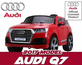 Special Offer (Limited Stock) £150 Audi Q7 In Red Lights, Music , Door Open
