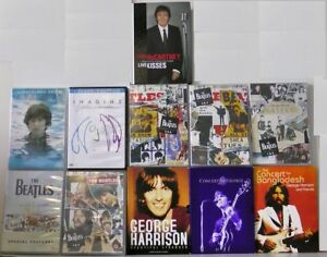 A Beatles related documentaries and concerts DVD Collection.