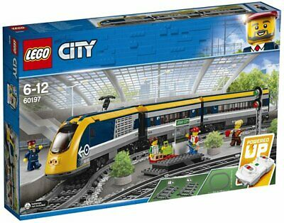 NEW SEALED LEGO CITY 60197 PASSENGER TRAIN REMOTE CONTROL &  4 MINIFIGURES 9/10