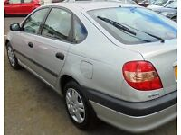 ((( 11 MONTHS MOT ))) TOYOTA AVENSIS 1.8 * VERY LARGE BOOT AREA * 5 DRS HATCHBACK*