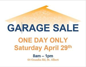 Fundraiser Garage Sale ONE DAY ONLY!!!