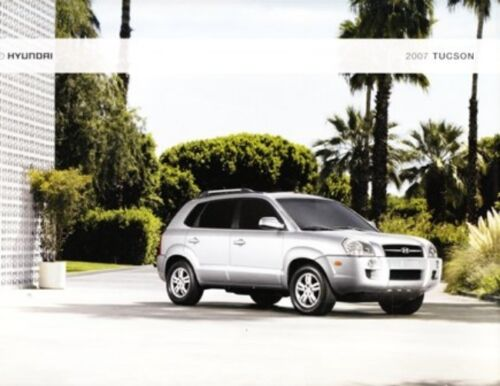 2007 07  Hyundai  Tucson   original sales brochure MINT