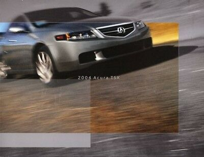 2004  04 Acura TSX original sales  brochure MINT