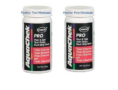 - Aquachek 511710 5 way pool & spa test strips 100 count 2 PACK  511710
