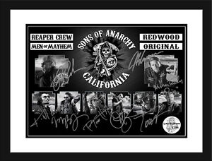 Sons Of Anarchy  Framed Memorabilia