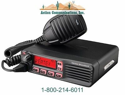 New Vertex Standard Vx 4600  Vhf 134 174 Mhz  50 Watt  512 Channel Mobile Radio