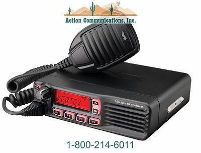 New Vertexstandard Vx-4600 Uhf 400-470 Mhz 45 Watt 512 Channel Mobile Radio