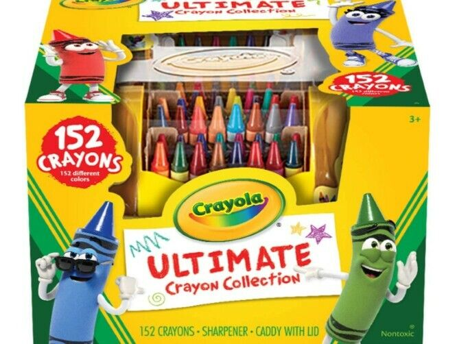 Standard Crayon Collection Coloring Set, Age 3+, 152 Count