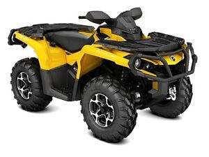 Used 2015 Can-Am OUTLANDER 800 XT